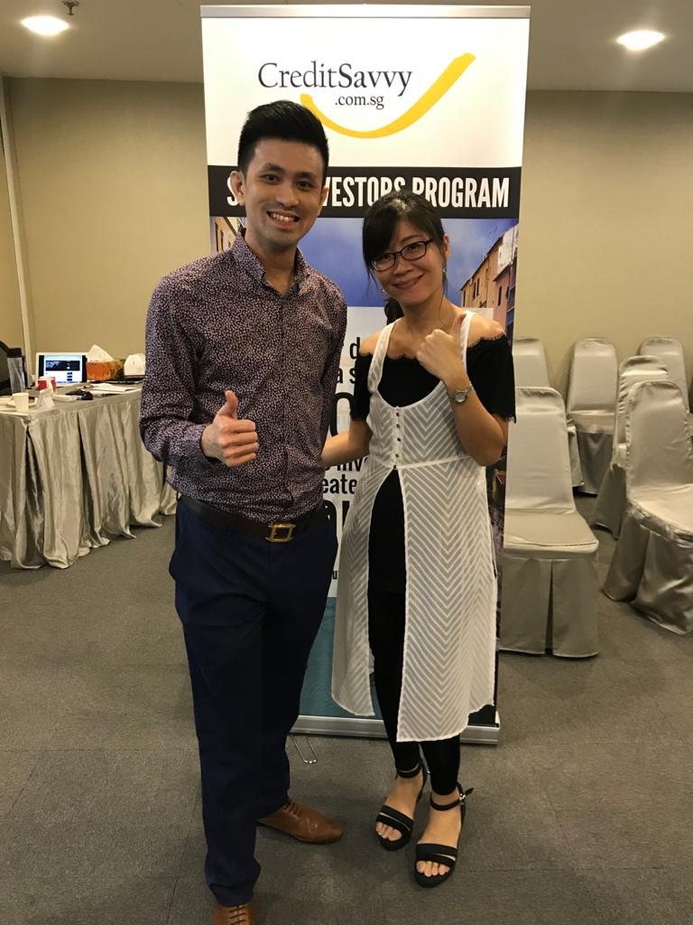Tracy Ong Hui Jing with Eric Chiew