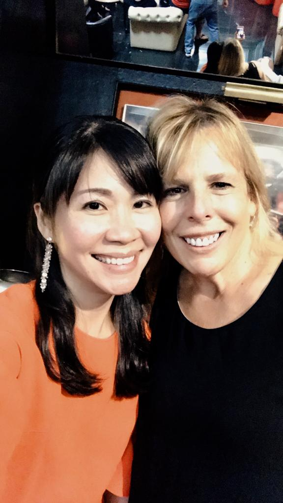 Tracy Ong Hui Jing with Kerry Zurier